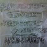 hp lovecraft grave